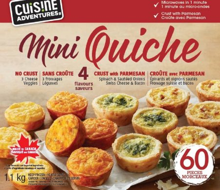 Mini Quiche Costco Ca Cuisine Adventures